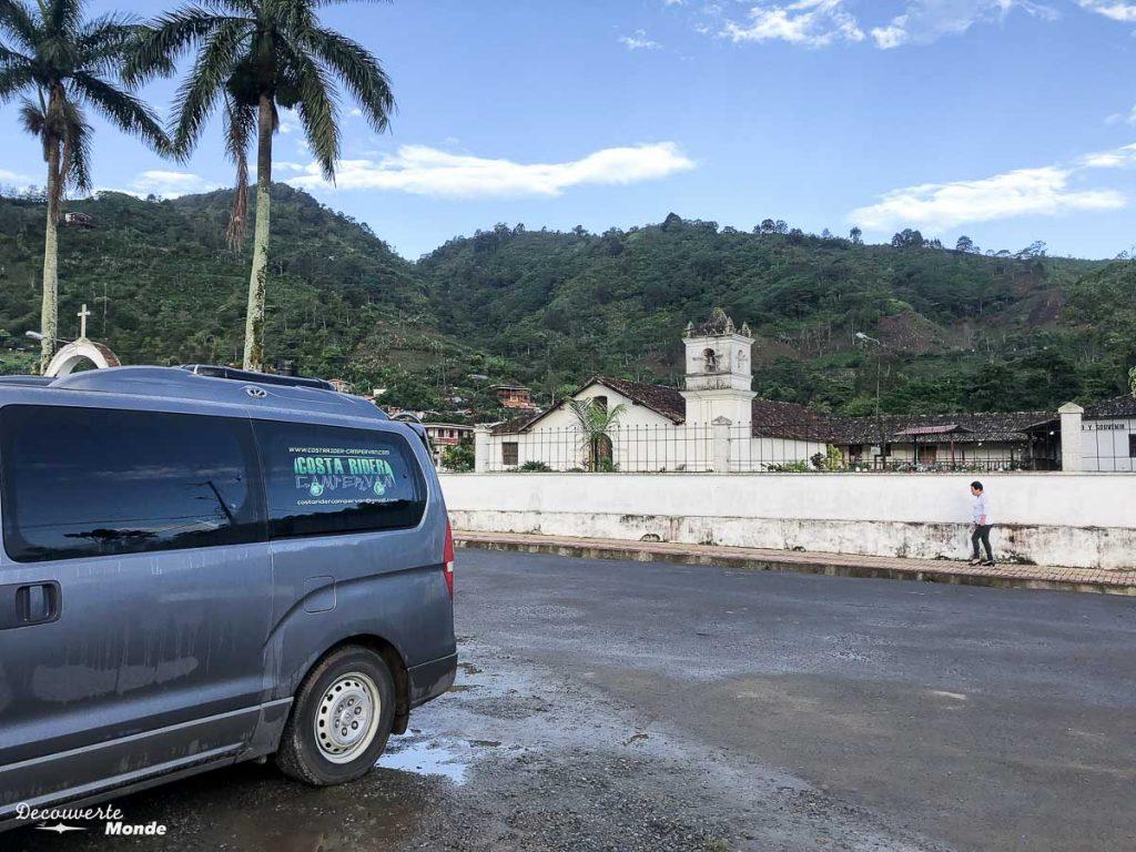 Notre lieu pour dormir en campervan dans la vallée Orosi dans mon article Campervan au Costa Rica : Mes conseils pour un road trip au Costa Rica #costarica #voyage #campervan #van #vanlife #roadtrip
