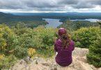 Sortie plein air avec la Navette Nature dans mon article Mon été à découvrir le Québec avec la Navette Nature #navettenature #parcnational #sansvoiture #bus #nature #quebec