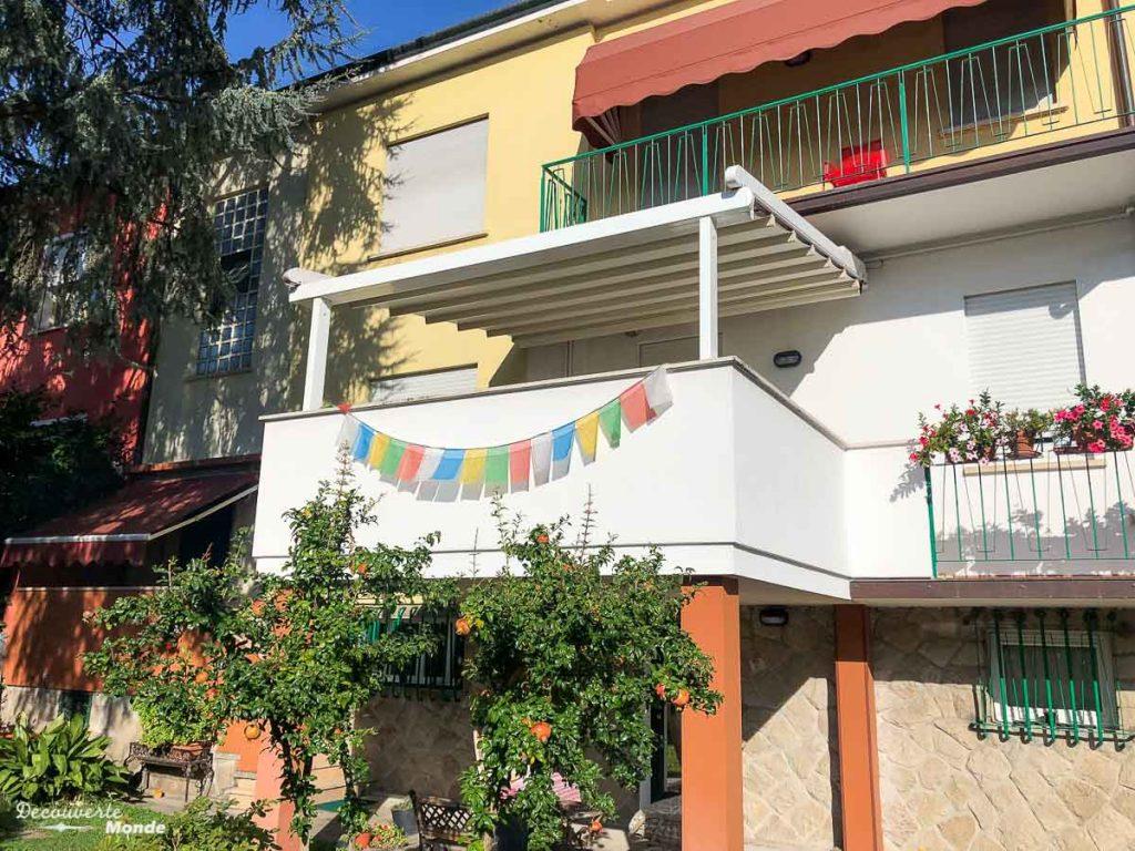 Notre échange de maison à Padoue en Italie dans mon article Voyager pas cher en Italie avec l'échange de maison : Mon avis HomeExchange #homeexchange #echangedemaison #voyage #italie #voyagerpascher #hebergement