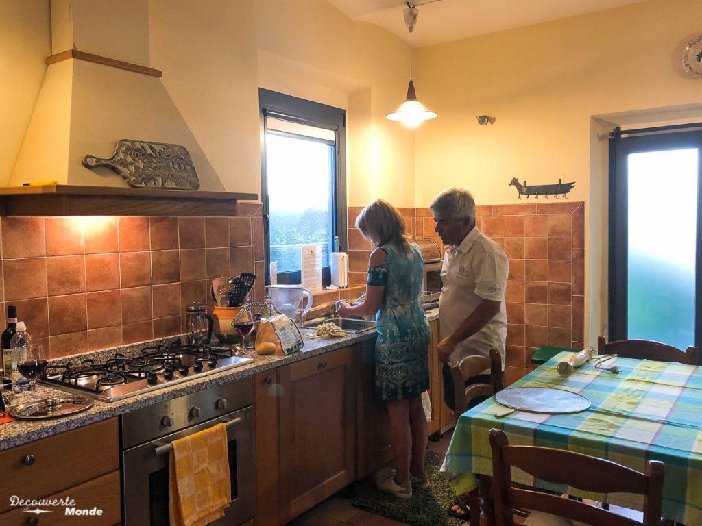 Avantage échange de maison, pouvoir se cuisiner dans mon article Voyager pas cher en Italie avec l'échange de maison : Mon avis HomeExchange #homeexchange #echangedemaison #voyage #italie #voyagerpascher #hebergement