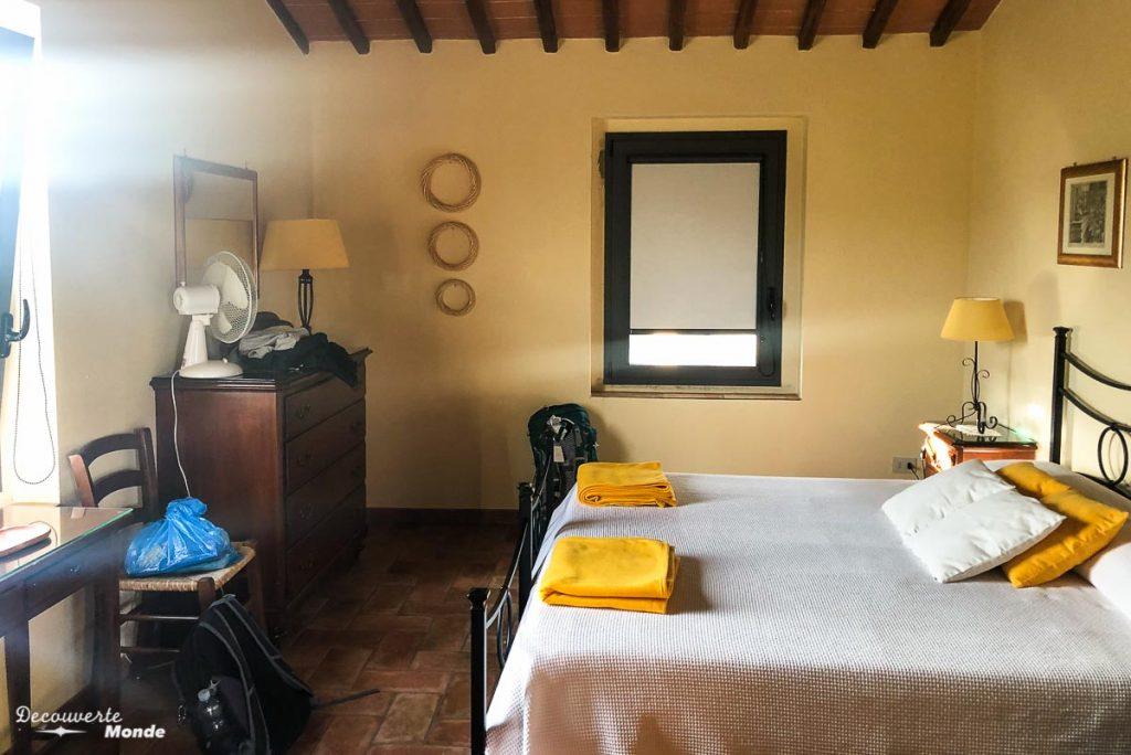 Notre maison HomeExchange dans la campagne toscane en Italie dans mon article Voyager pas cher en Italie avec l'échange de maison : Mon avis HomeExchange #homeexchange #echangedemaison #voyage #italie #voyagerpascher #hebergement