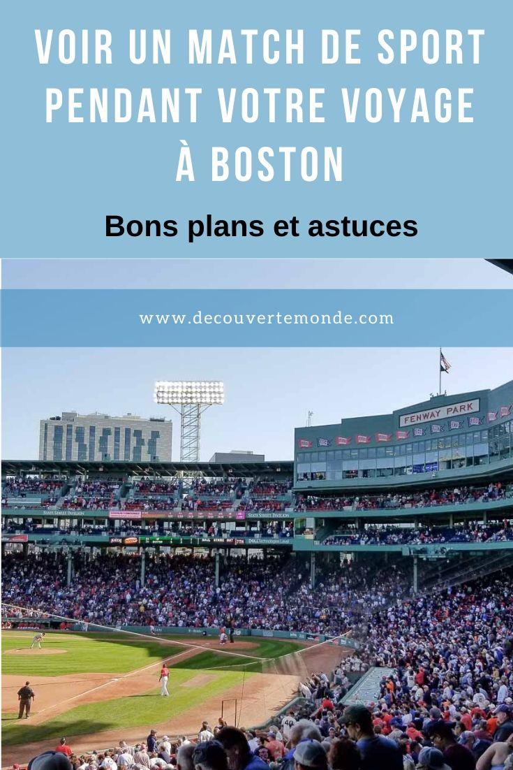 Bons plans pour assister à un match à Boston, ville d'amateurs de sports | Boston | match à Boston | game à Boston | match de football à Boston | match de baseball à Boston | game de football à Boston | game de baseball à Boston | USA sport | voyage sportif Boston | voyage | patriots new england | red sox Boston | #sport #boston #match #game #baseball #football #voyage
