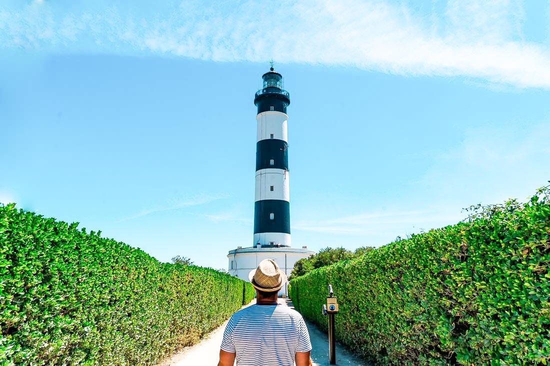 Phare à l'Île d'Oléron en Nouvelle-Aquitaine dans mon article Région de Nouvelle-Aquitaine en France en 12 incontournables à visiter #nouvelle-aquitaine #france #europe #voyage