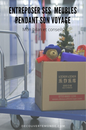 Location d'un garde-meuble : Entreposer ses meubles pendant un voyage | garde-meuble | entrepôt | location garde-meuble| box de stockage | entreposer ses meubles #gardemeuble #entrepot #meuble #demenagement #boxstockage #voyage