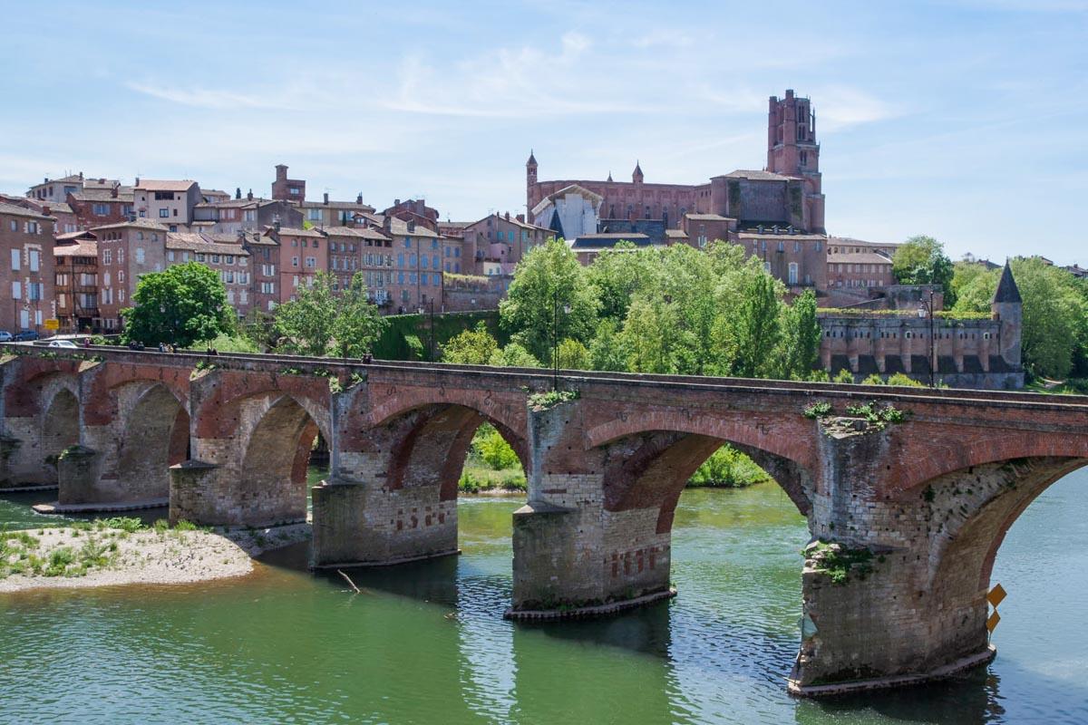 Ville d'Albi dans le Tarn en région Occitanie dans mon article La région Occitanie en France en 12 incontournables à visiter #occitanie #france #europe #voyage