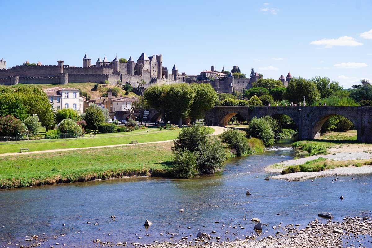 Carcassonne dans l'Aude en Occitanie dans mon article La région Occitanie en France en 12 incontournables à visiter #occitanie #france #europe #voyage