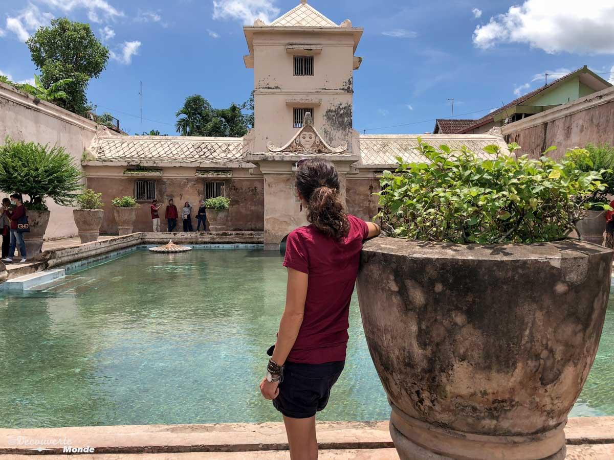 Water Palace de Yogyakarta à Java dans mon article Que faire à Java, voir et visiter : Mes 10 incontournables #java #indonesie #voyage #asiedusudest #asie #yogyakarta