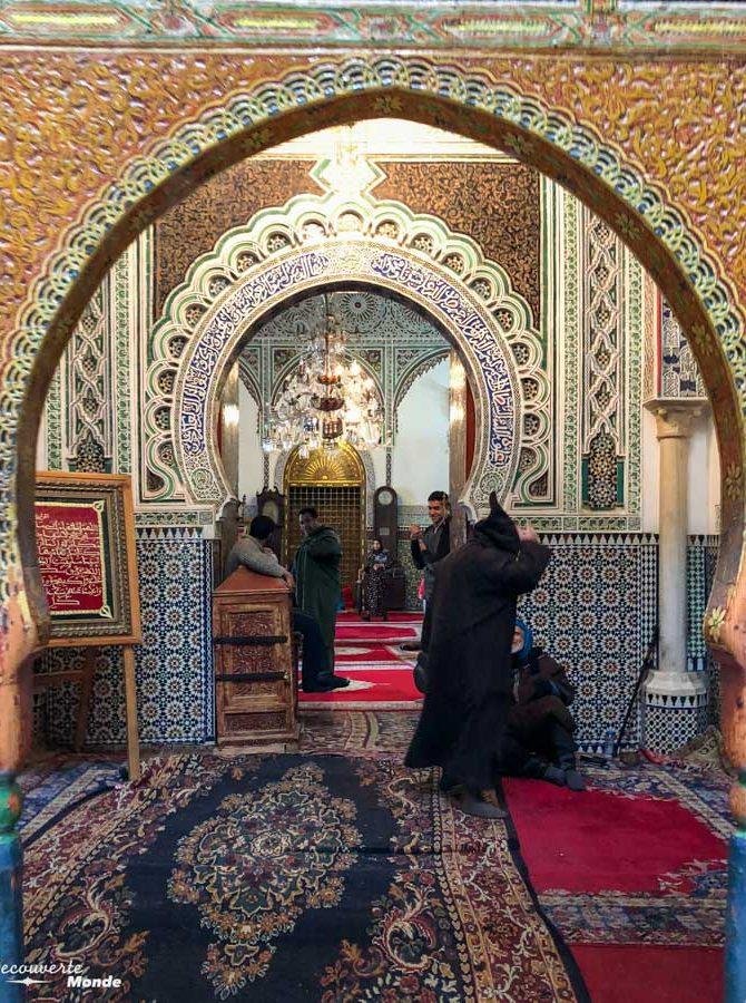 Mosquée Al Quaraouiyine à Fès dans notre article Visiter Fès au Maroc : Découverte de sa vieille-ville, la Médina de Fès #fes #maroc #medina #voyage #maghreb #unesco