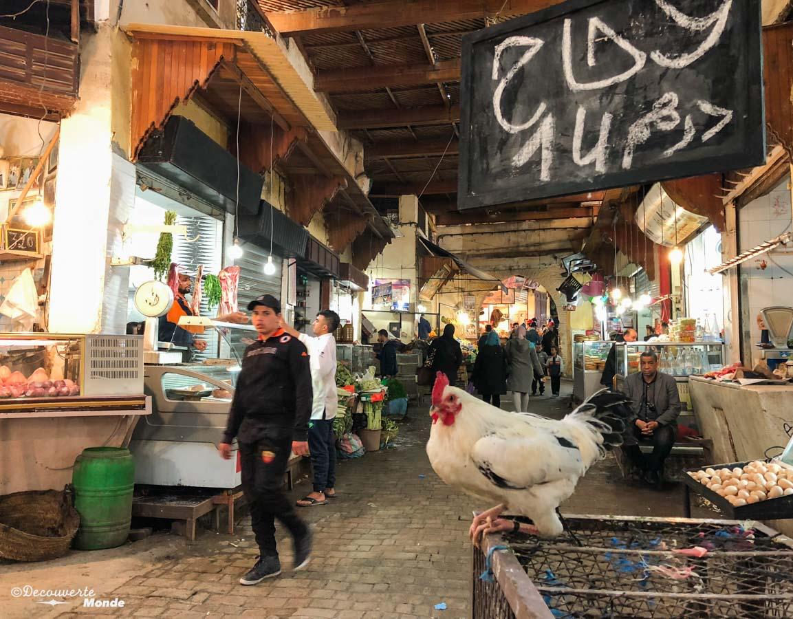 Marché alimentaire de la Médina de Fès dans notre article Visiter Fès au Maroc : Découverte de sa vieille-ville, la Médina de Fès #fes #maroc #medina #voyage #maghreb #unesco
