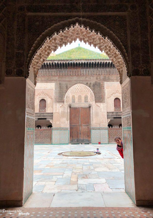 Medersa Bou Inania à Fès dans notre article Visiter Fès au Maroc : Découverte de sa vieille-ville, la Médina de Fès #fes #maroc #medina #voyage #maghreb #unesco